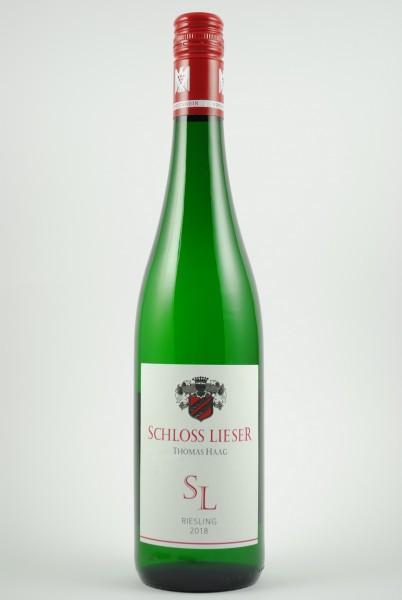 2018 Riesling SL QbA feinherb, Schloss Lieser